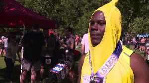High School Track and Field Coach Breaks Record Dressed as a Banana [Video]