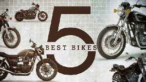 Best Motorcycles To Build A Tracker—5 Best Bikes #6 [Video]
