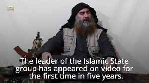 IS 'leader' al-Baghdadi appears in first video in five years [Video]