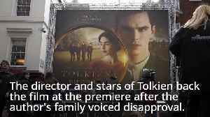 Tolkien stars defend biopic after criticism from author's family [Video]