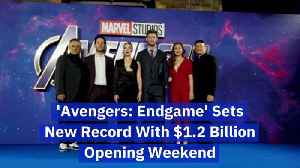 A Whopping Record For 'Avengers: Endgame' Opening [Video]