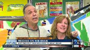 Mural painting project inspires a passion for reading in students [Video]