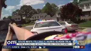 Prosecution rests case against Harris in Officer Caprio murder trial [Video]