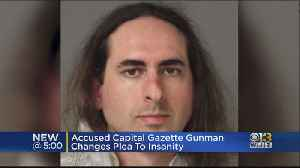 Accused Capital Gazette Gunman Changes Plea To Insanity [Video]