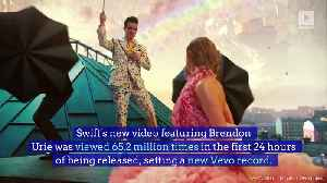 Taylor Swift's 'ME!' Video Breaks 24-Hour Viewing Record [Video]