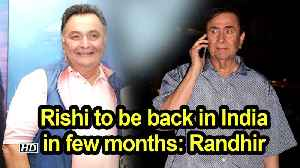 Rishi to be back in India in few months: Randhir [Video]