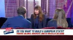 EU is 'built on anti-fascism' not Christian values, says EU top job hopeful Violeta Tomic [Video]