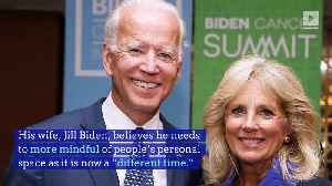 Jill Biden Admits Her Husband Needs to Work on Personal Space [Video]