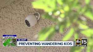 Technology for parents to help them keep their kids from wandering off [Video]