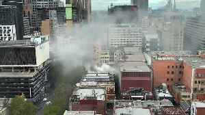 Smoke Billows From Fire in Melbourne's CBD [Video]