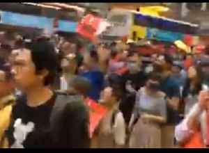 Thousands March in Hong Kong Over Proposed Extradition Laws [Video]
