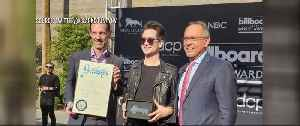 Panic! at the Disco singer receives key to the city [Video]