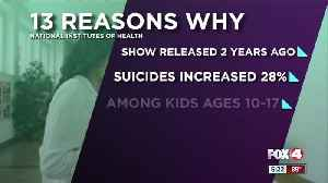 Teen suicide rates spiked after debut of Netflix show '13 Reasons Why,' study says [Video]