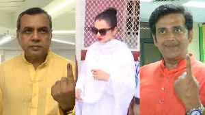 Lok Sabha elections 2019: Bollywood celebs cast vote in Mumbai [Video]