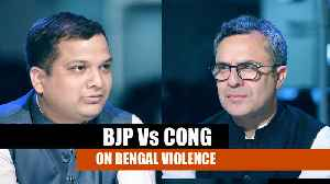 Faceoff | WB violence: BJP says 'Mamata scared', Cong sees 'BJP-TMC drama' [Video]