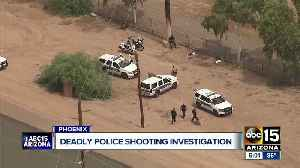 Suspect killed in officer-involved shooting near 40th Street and Van Buren [Video]
