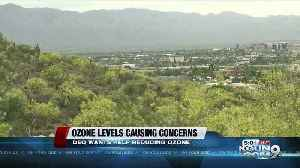 Ozone levels causing concerns [Video]