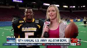 Live interview with Sam Stewart Jr ahead of U.S. Army All-Star Bowl [Video]
