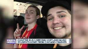 Charter bus carrying Hartland music students home from Chicago crashes [Video]