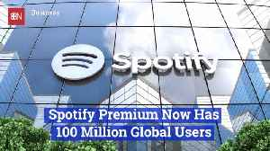 Spotify Now Has Over 100 Million Users [Video]