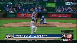 Tampa Bay Rays score early, pile on more runs late in 8-5 win over Kansas City Royals [Video]
