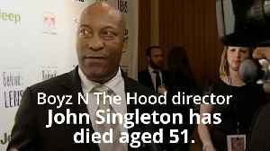 John Singleton: Tributes paid to filmmaker who dies aged 51 [Video]