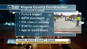 Wayne County to announce construction projects for 2019 [Video]