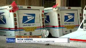 'You can double your salary': United States Postal Service hiring at Milwaukee job fair [Video]