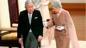 Japan Emperor Gives Final Speech At Abdication [Video]