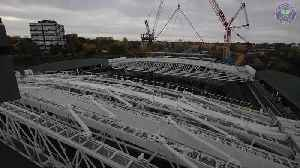 Roof put on Wimbledon's Number One court ready for 2019 championships [Video]
