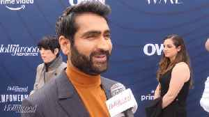 Kumail Nanjiani Talks News Projects, Angelina Jolie, Marvel | Empowerment in Entertainment [Video]