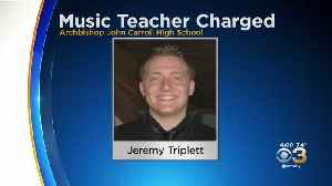 Archbishop John Carroll Music Teacher Accused Of Sexual Misconduct [Video]