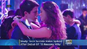 Teen Suicide Rates Spiked After Debut Of Netflix Show, '13 Reasons Why', Study Says [Video]