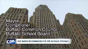 Pay raises recommended for top Buffalo officials [Video]