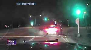 Oak Creek Police find teen drunk driver passed out behind the wheel [Video]