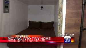 Inside look at first tiny home finished for Camp Fire survivors [Video]
