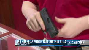 Gun control bills pass in the Minnesota House [Video]