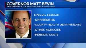 Bevin Pension Bill [Video]