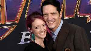 David Dastmalchian and Evelyn Leigh 'Avengers: Endgame' World Premiere Purple Carpet [Video]