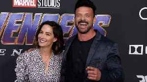 Frank Grillo and Wendy Moniz 'Avengers: Endgame' World Premiere Purple Carpet [Video]