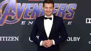 Jeremy Renner 'Avengers: Endgame' World Premiere Purple Carpet [Video]
