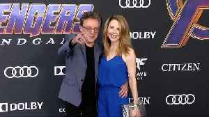 Frankie Valli and Jackie Jacobs 'Avengers: Endgame' World Premiere Purple Carpethttp://www.maximotv.com || Broll footage:  Harle [Video]