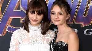 Ava and Lila Russo 'Avengers Endgame' World Premiere Purple Carpet [Video]