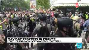 Yellow vests are 'gatecrashing' traditional May 1 labour and anarchist protests [Video]