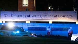 News video: Lockdown Lifted At UNC at Charlotte After Shooter Kills 2, Wounds 4