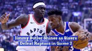 Jimmy Butler Owns This Game Against The Raptors [Video]