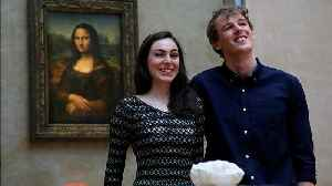 Couple win Airbnb competition for first overnight stay in the Louvre museum [Video]