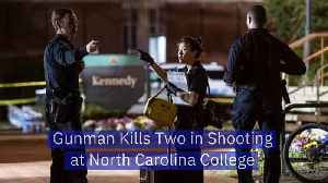 Gunman Kills Two in Shooting at North Carolina College [Video]