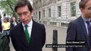 Rory Stewart: Williamson sacking was handled correctly [Video]