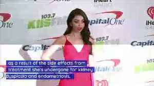 Sarah Hyland's Health Problems Caused Hair Loss [Video]